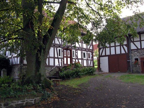 Fachwerkhaus Stumpertenrod (c) Claus Schwing
